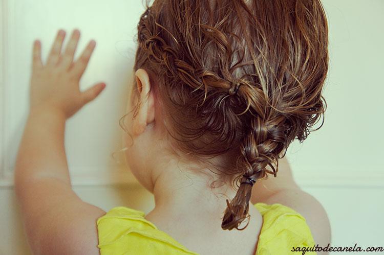 Como peinar el pelo rizado en ninas