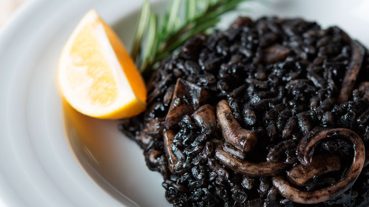 receta arroz negro fácil