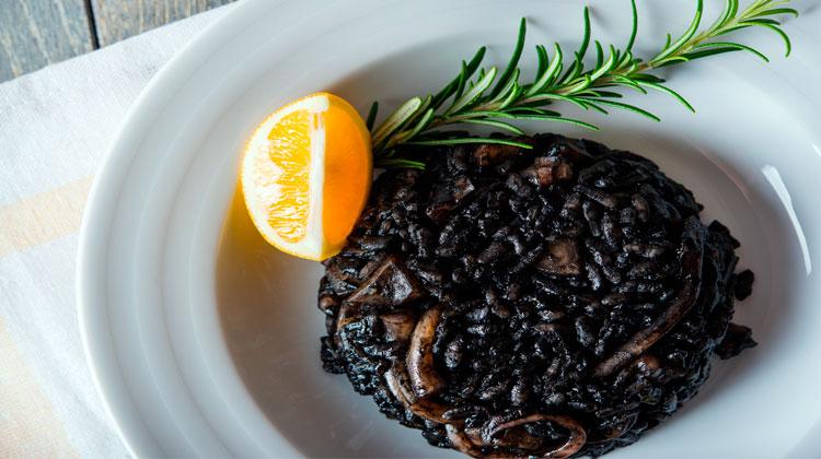 receta de arroz negro fácil