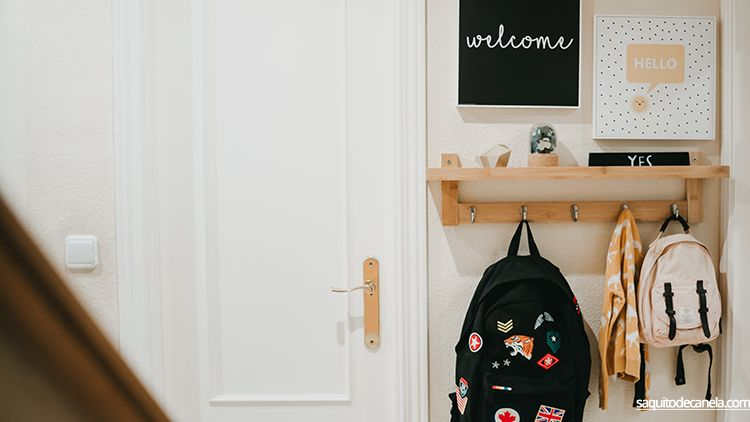 recibidores acogedores para niños