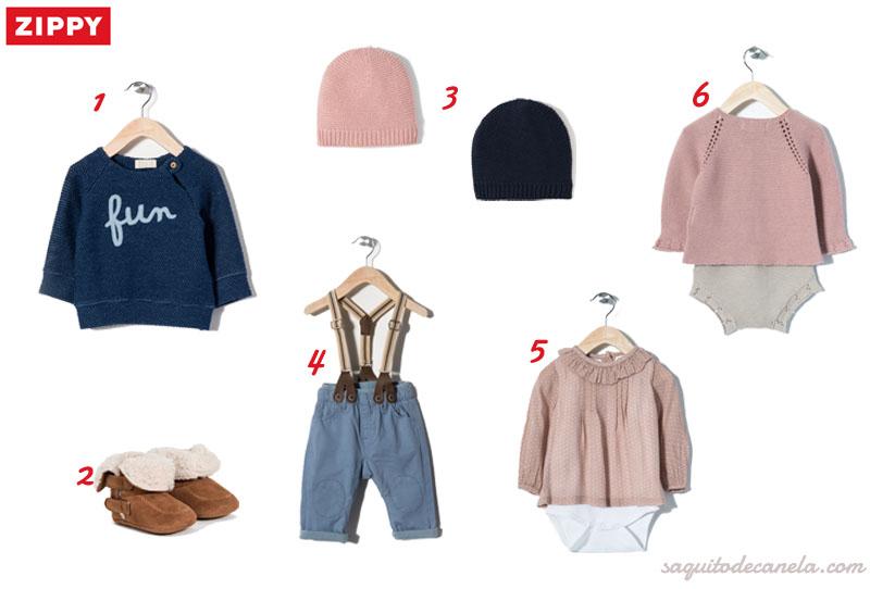 ropa para bebes zippy