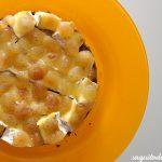 Tarta de queso y uvas ¡Riquísima!