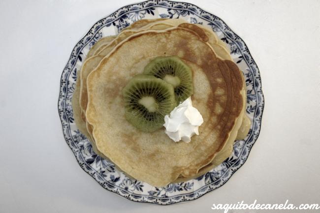 Receta fácil tortitas desayuno