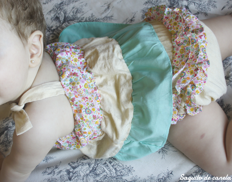 vestido de retales