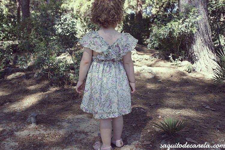 vestido para niña oh soleil