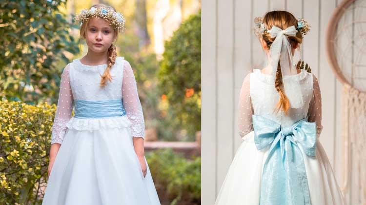 vestidos de comunión de niña