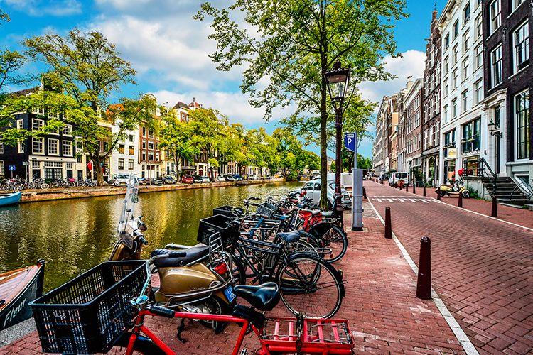viajar con niños a Ámsterdam