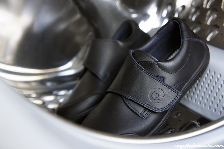 zapatos colegiales lavables